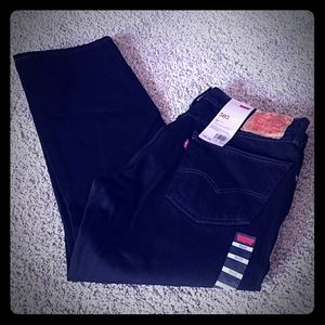 NWT Men's Black Levis Jeans